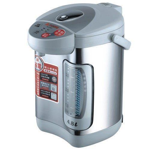 【威利家電】【刷卡分期零利率+免運費】元山4.8公升電動給水電熱水瓶.YS-519AP