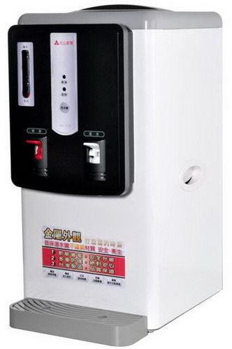 【威利家電】【刷卡分期零利率+免運費】元山(7公升)全開水溫熱開飲機YS-812DW 全機防火金屬外觀