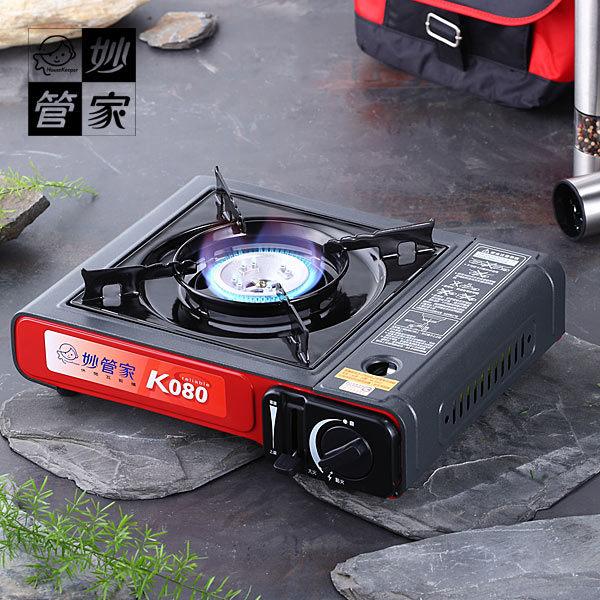 【威利家電】【分期零利率+免運】桌上型休閒瓦斯爐(紅)#03015 K080