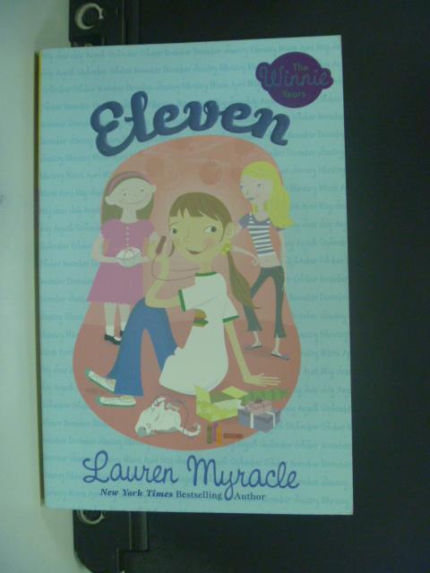 【書寶二手書T5/原文小說_OIR】Eleven_Myracle, Lauren