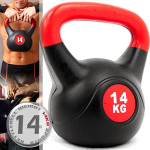 14公斤壺鈴KettleBell重力(30.8磅)14KG壺鈴.拉環啞鈴搖擺鈴.舉重量訓練.運動健身器材.推薦哪裡買C109-2114