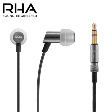 RHA S500 輕量化入耳式耳機 特殊隔音設計 耐用的編織線 三年保固服務