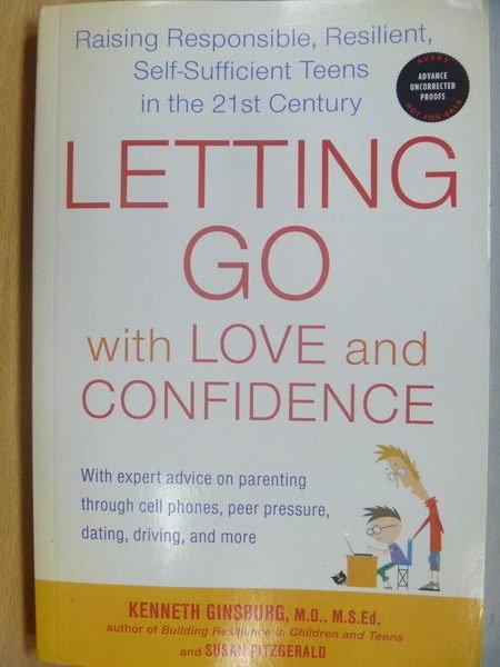 【書寶二手書T6/原文小說_ZKW】Letting Go with Love and Confidence