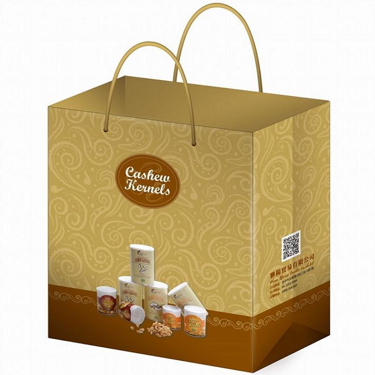 【精美禮物袋加購 】1只 ▶ 驊陽鹽焗腰果