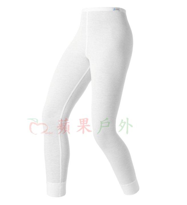 【【蘋果戶外】】odlo 10459 童褲 白『送雪襪』瑞士 機能保暖型排汗內衣 衛生衣 發熱衣 保暖衣 長袖