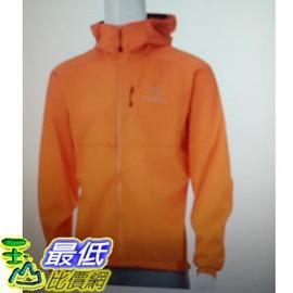 [COSCO代購 如果沒搶到鄭重道歉] Arc'teryx Squamish 男輕量 防風連帽外套 (橘) _W1027947