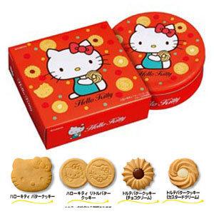 有樂町 中秋歷年暢銷 超可愛Kitty造型奶酥餅乾禮盒(附提袋)