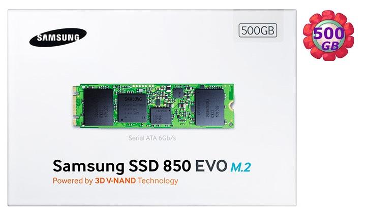 SAMSUNG SSD 850 EVO 500GB 500G 【M.2】MZ-N5E500BW SATA III Internal Solid State Drive 內接式 筆電固態硬碟