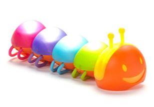 Buggy Brites 毛毛蟲寶寶LED燈 嬰兒推車/三輪車/自行車都可用 *夏日微風*