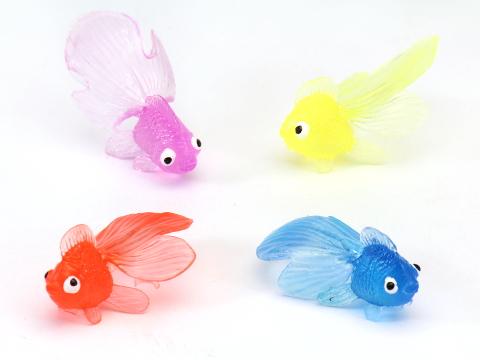 日本祭典傳統撈金魚玩具組 (大)10入+不破網子*1 可當洗澡玩具 可愛又好玩 *夏日微風*