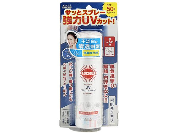 Kose 高絲 SUNCUT UV 曬可皙高效防曬噴霧 SPF50 50g 防水型 *夏日微風*