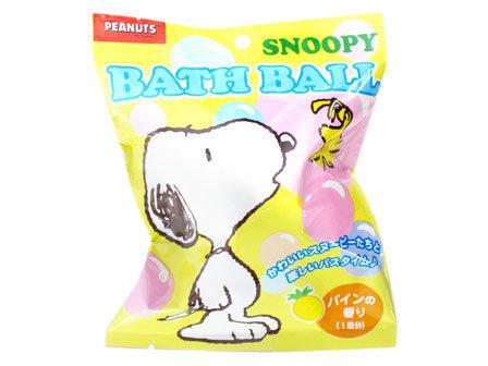 SANTAN SNOOPY 史努比沐浴球 卡通造型沐浴球 入浴球 85g 溶化後會跑出各種小玩具 *夏日微風*