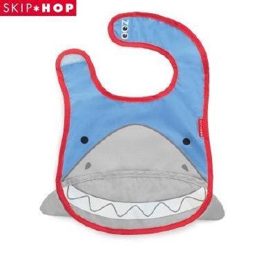 美國 SKIP HOP Zoo Bib 寶寶動物圍兜 鯊魚 原廠正品 *夏日微風*