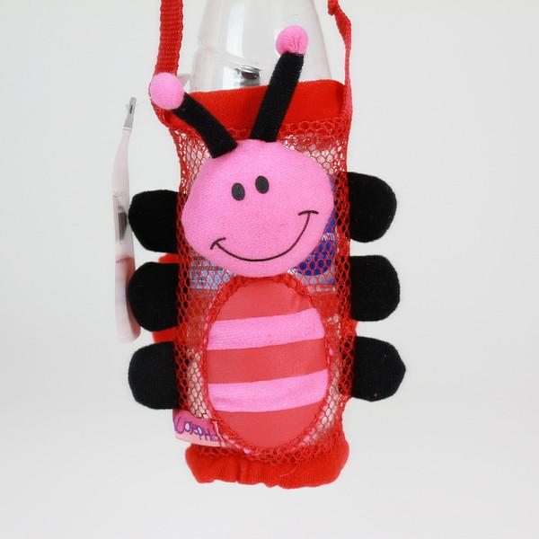 美國 Stephen Joseph 兒童造型水壺袋 瓢蟲 膳魔師吸管水壺可用 *夏日微風*