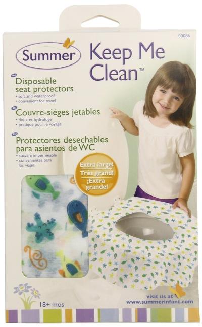 美國 Summer Infant 環保拋棄式馬桶座墊 20入 外出讓寶寶乾淨上廁所*夏日微風*