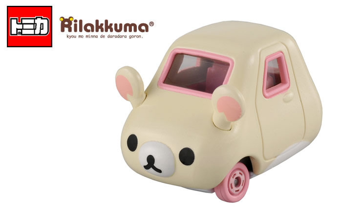 日本 TOMICA Dream Car Korilakkuma 懶懶熊(小白熊) 小汽車 *夏日微風*