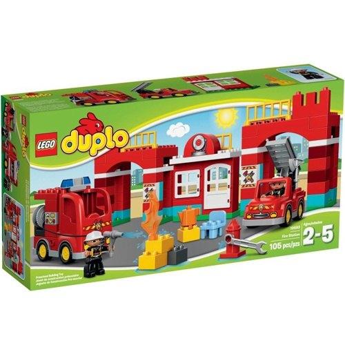 樂高積木LEGO《 LT10593 》2015 年Duplo 得寶幼兒系列 - 消防局