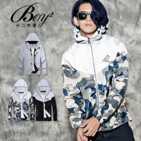 ☆BOY-2☆【PPK88020】美式反光VESTI防風夜光風衣外套