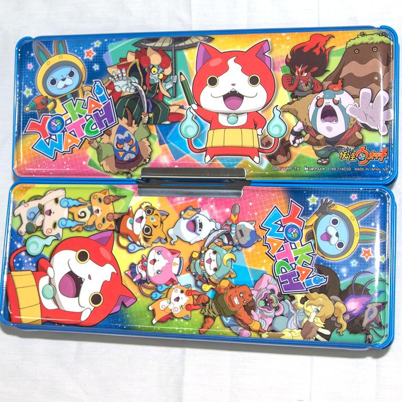 妖怪手錶 雙層筆盒 附削鉛筆機 日本製造 正版商品