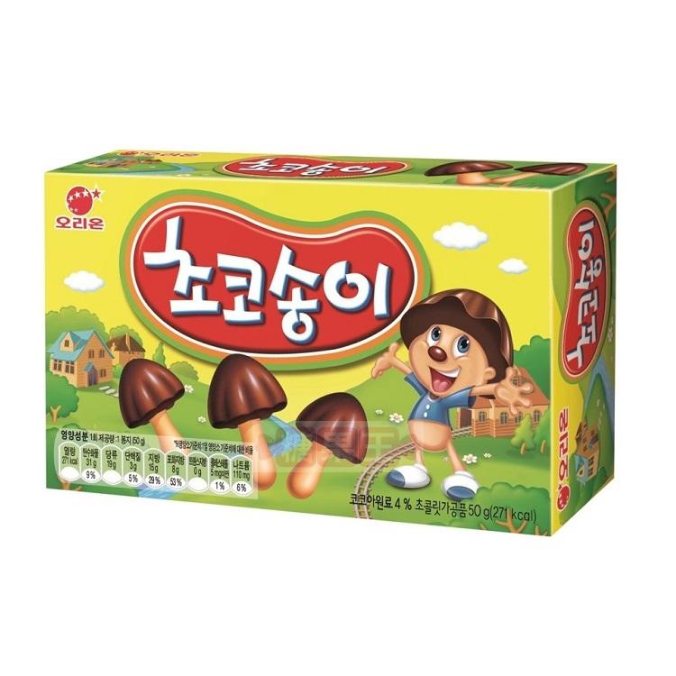 韓國零食 Orion 香菇巧克力餅