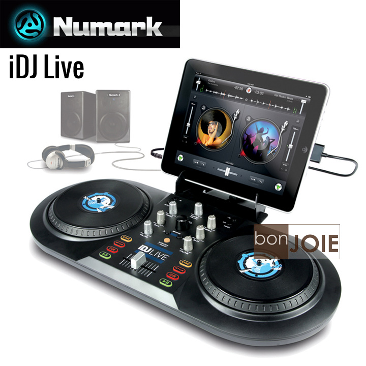 ::bonJOIE:: 美國進口 Numark iDJ Live DJ Controller 可攜式 DJ 控制器 (全新盒裝) for iPad, iPhone 混音器 轉盤 唱盤 Mixer