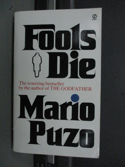 【書寶二手書T1/原文小說_MRY】Fools Die_Mario Puzo