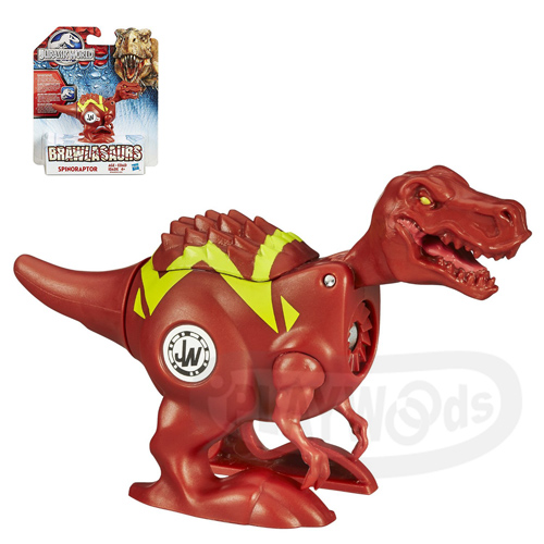 【Playwoods】[侏儸紀世界Jurassic World]戰鬥恐龍組-暴龍Trannosaurus Rex(旋轉式發條/對戰/T-Rex/孩之寶/Hasbro/侏羅紀公園/努布拉島/帝王暴龍/霸王龍/迅猛龍/雷龍/翼龍/滄龍/電影版)
