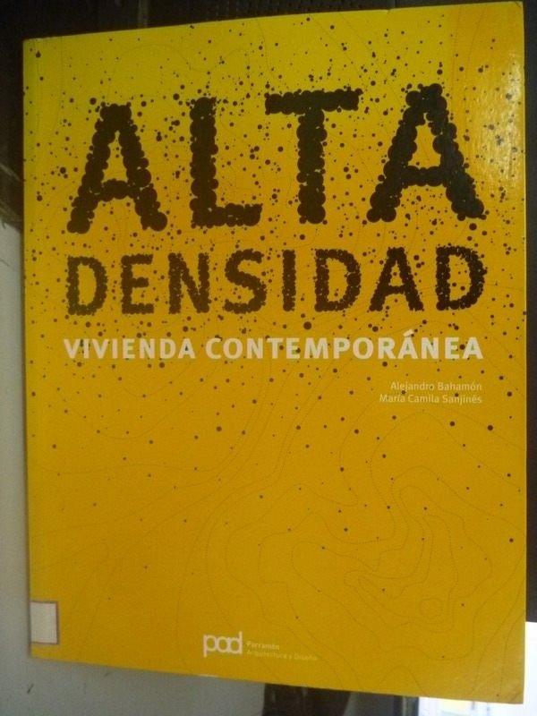 【書寶二手書T5/建築_ZDU】Alta densidad / High density_Alejandro