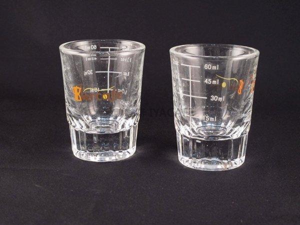 《愛鴨咖啡》加厚 刻度 玻璃 量杯 2oz/60ml