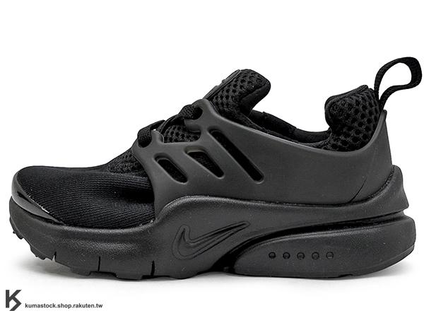 [14cm] 2016 台灣未發售 NSW 輕量舒適 NIKE LITTLE PRESTO TD BT 幼童鞋 BABY 鞋 全黑 輕量好穿 (844767-003) !