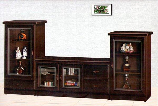 【尚品家具】614-44 胡桃色半實木4尺電視櫃矮櫃/中低櫃~另有赤楊.樟木色