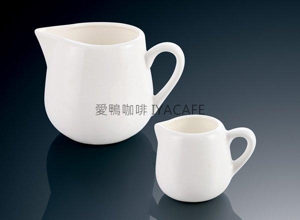 《愛鴨咖啡》陶瓷中奶盅 蜂密罐 奶精罐 楓糖罐 100cc