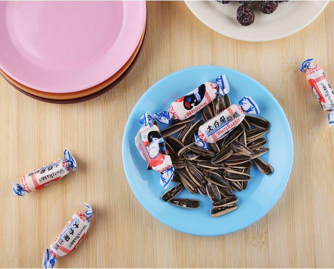 (隨機出貨)炫彩食品級塑料小碟子零食平底盤子小吃碟 9元