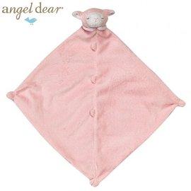 安撫巾-Baby Joy World-【美國Angel Dear 】動物嬰兒安撫巾  (粉紅小羊)
