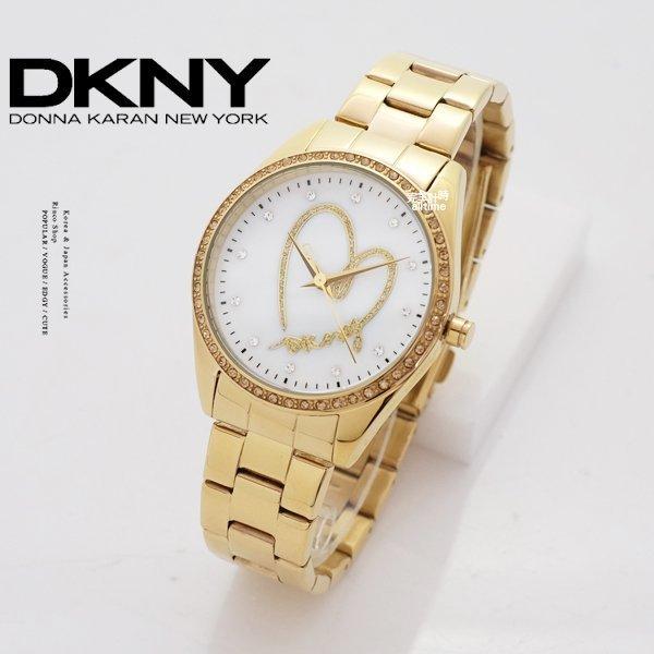 【完全計時】手錶館│DKNY愛戀紐約 真鑽設計款 NY8472 女錶 禮物 情人節 36mm m