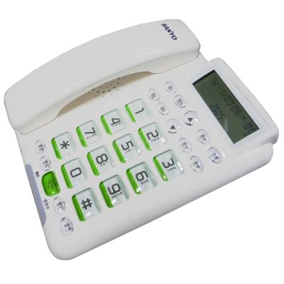 【純米小舖】SANYO三洋來電顯示有線電話TEL-011