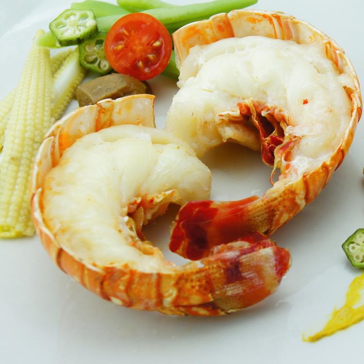 (只保留精華龍蝦肉)加勒比海龍蝦身 (一尾)210g