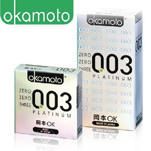 【伊莉婷】12入 日本 OKamoto 岡本 003 極薄白金 PLATINUM CO-67086