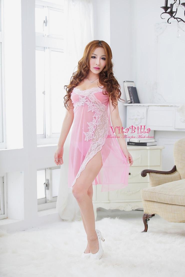 VitaBilla 粉黛之戀 衣裙+小褲 二件組