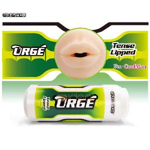【伊莉婷】美國 Skinsation URGE Tense lipped 6頻震動 緊緻型 白綠啤酒罐 少女美唇 SS-02553