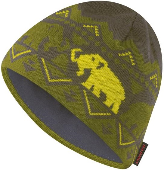 Mammut 長毛象 毛帽/登山保暖帽/滑雪/旅遊 Merino美麗諾羊毛 保暖編織帽 1090-03960-7375燧石褐