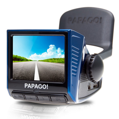 【純米小舖】PAPAGO! P3 車道偏離/車距警示 行車記錄器 - 時尚藍-快