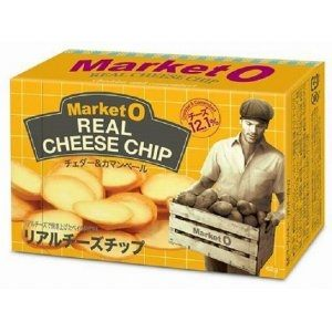 日本直送 Market O REAL CHEESE CHIP 起司奶酪洋芋餅