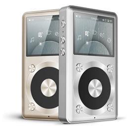 志達電子 X1 FiiO 專業隨身Hi-Fi音樂播放器 支援耳機/線路輸出(LO)金/銀/黑/藍