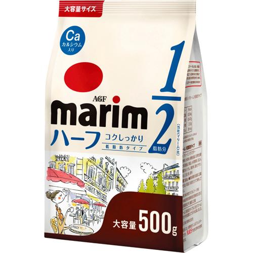 AGF Marim低脂奶精-鈣添加 (500g) 大容量 マリーム 低脂肪タイプ 袋