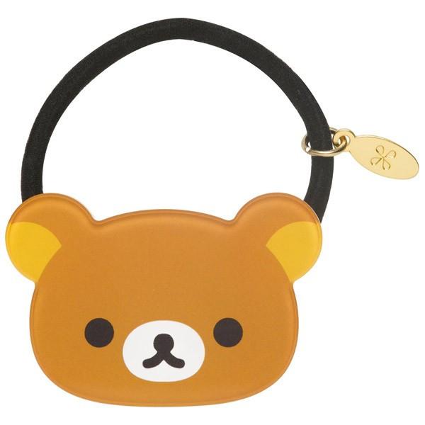 【真愛日本】16082700059 經典壓克力頭型髮束-懶熊金牌 SAN-X 懶懶熊 拉拉熊 髮圈 髮飾