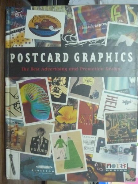 【書寶二手書T2/設計_PIR】Postcard Graphics_Stefan Sagmeister