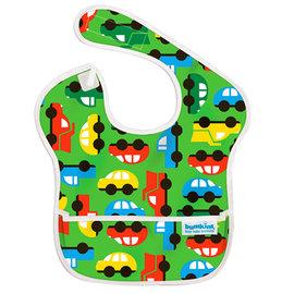 【淘氣寶寶】2016年最新 美國Bumkins防水兒童圍兜(一般無袖款6個月~2歲適用)-彩色車車 【保證公司貨】