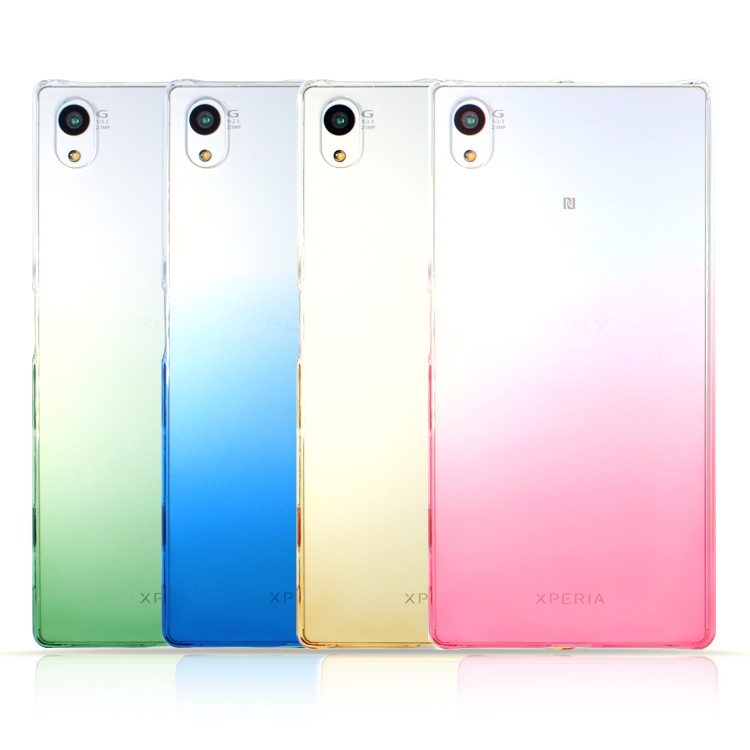 ☆內哥的配件☆ Sony Z5 - 彩色 - 漸層手機保護殼