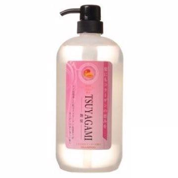 【JUN-COSMETIC】日本原裝 膠原蛋白X海洋深層水艷髮洗髮精 1000ml /純藥株式會社 天然保濕 無矽靈